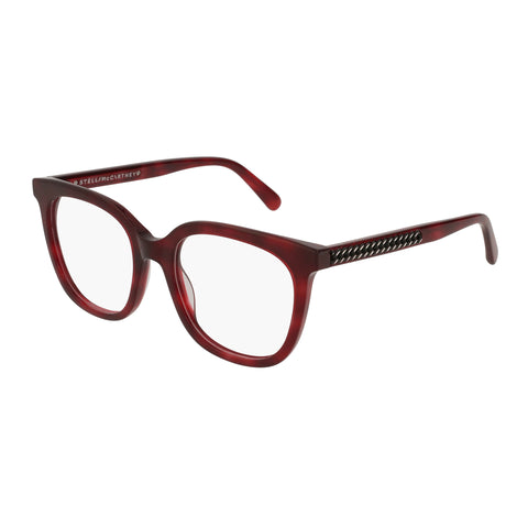 Stella Mccartney Female Sc0099o003 Avana (70) Tort Wrap Fashion Optical Frames
