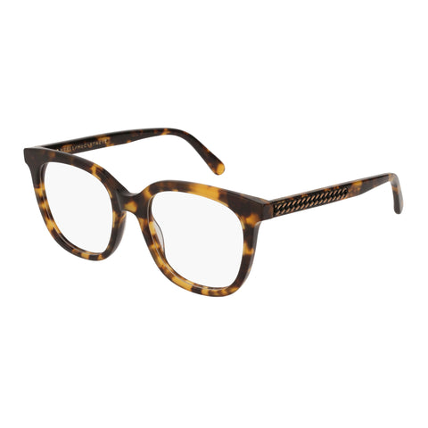 Stella Mccartney Female Sc0099o004 Avana (70) Tort Wrap Fashion Optical Frames