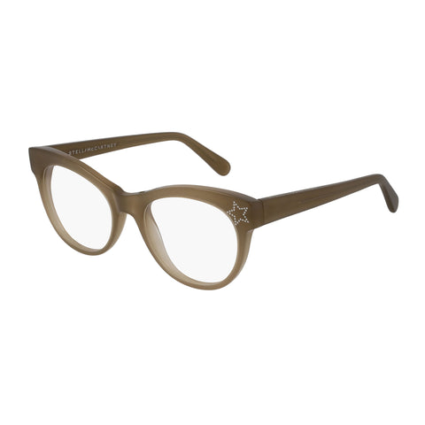Stella Mccartney Female Sc0103o004 Brown (70) Brown Wrap Fashion Optical Frames