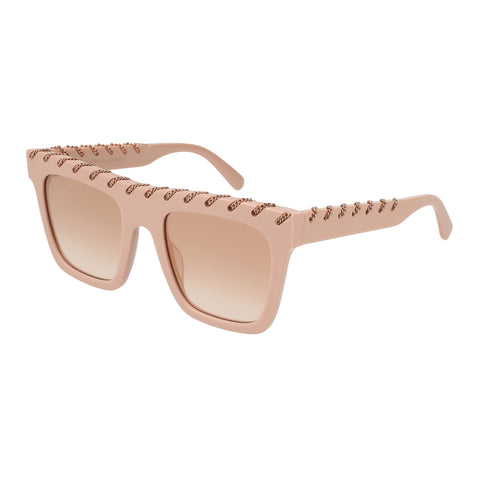 Stella Mccartney Female Sc0128s004 Pink (26)-2 Pink Unspecified Sunglasses