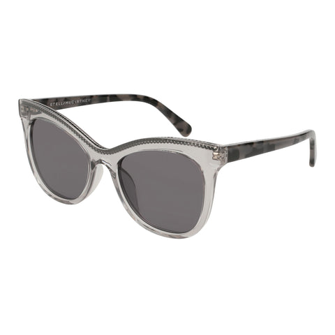 Stella Mccartney Female Sc0129s001 Grey (26)-3 Grey Unspecified Sunglasses