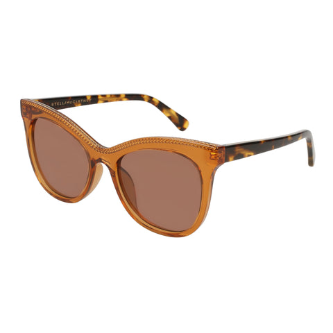 Stella Mccartney Female Sc0129s002 Orange (26)-2 Orange Unspecified Sunglasses