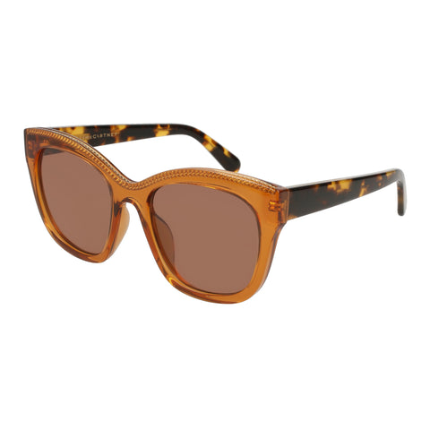 Stella Mccartney Female Sc0130s002 Orange (26)-2 Orange Unspecified Sunglasses