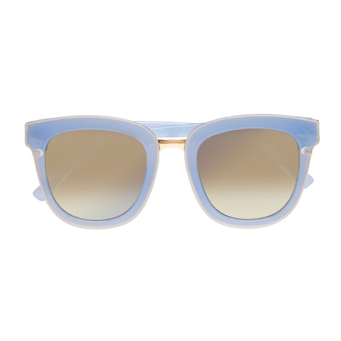 Seafolly Female Brighton Blue Square Sunglasses