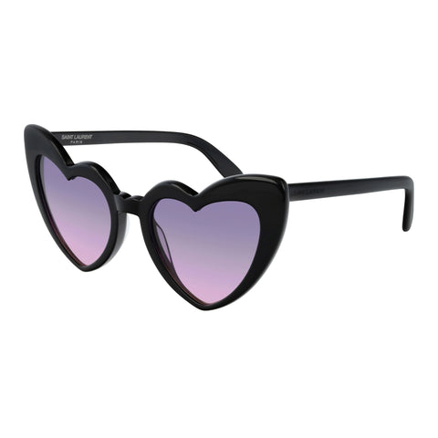 Saint Laurent Female Sl181loulou Black Round Sunglasses