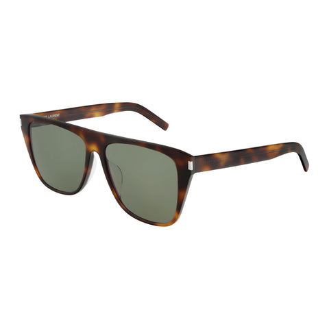 Saint Laurent Male Sl1fslim Tort Round Sunglasses