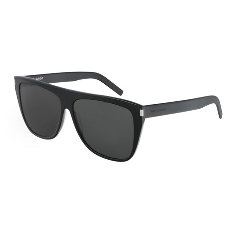Saint Laurent Male Sl1slim Black Round Sunglasses
