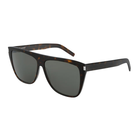Saint Laurent Male Sl1slim Tort Round Sunglasses