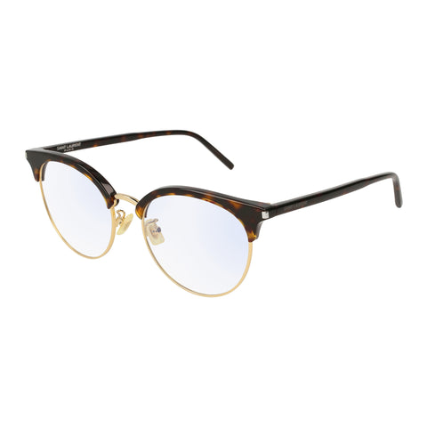 Saint Laurent Uni-sex Sl233f Tort Modern Rectangle Optical Frames