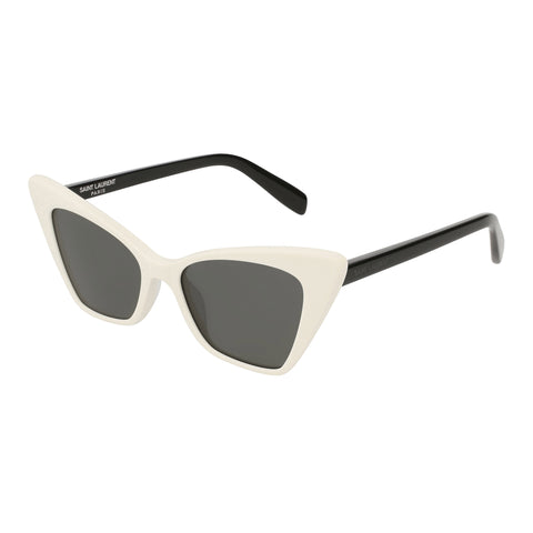Saint Laurent Female Sl244victoire White Cat-eye Sunglasses
