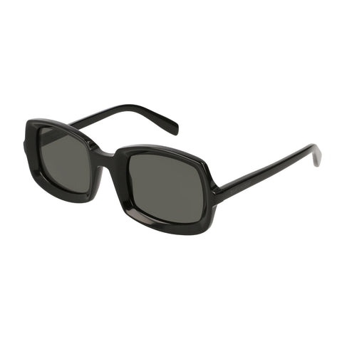 Saint Laurent Female Sl245 Black Modern Rectangle Sunglasses