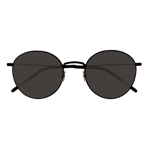Saint Laurent Uni-sex Sl250 Black Round Sunglasses