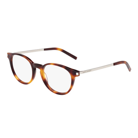 Saint Laurent Uni-sex Sl250 Tort Round Optical Frames