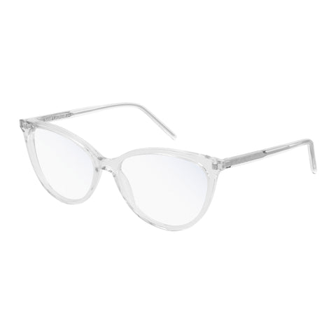 Saint Laurent Female Sl261 Clear Cat-eye Optical Frames
