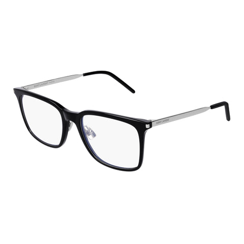 Saint Laurent Uni-sex Sl263 Black Modern Rectangle Optical Frames