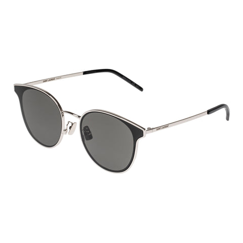 Saint Laurent Uni-sex Sl271k Black Round Sunglasses