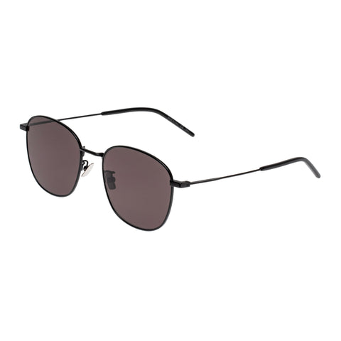 Saint Laurent Uni-sex Sl273k Black Modern Rectangle Sunglasses