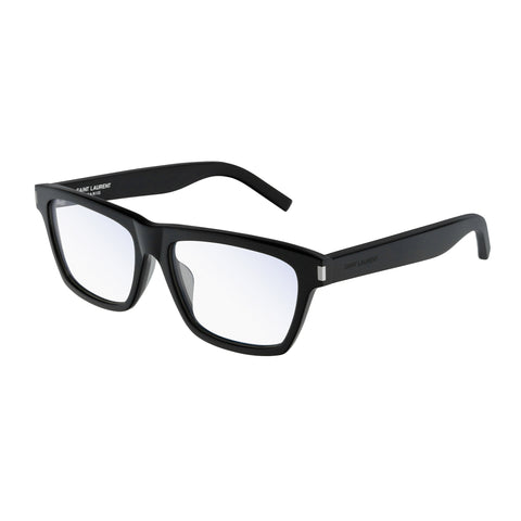 Saint Laurent Uni-sex Sl275f Black Modern Rectangle Optical Frames