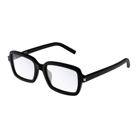 Saint Laurent Male Sl278f Black Modern Rectangle Optical Frames