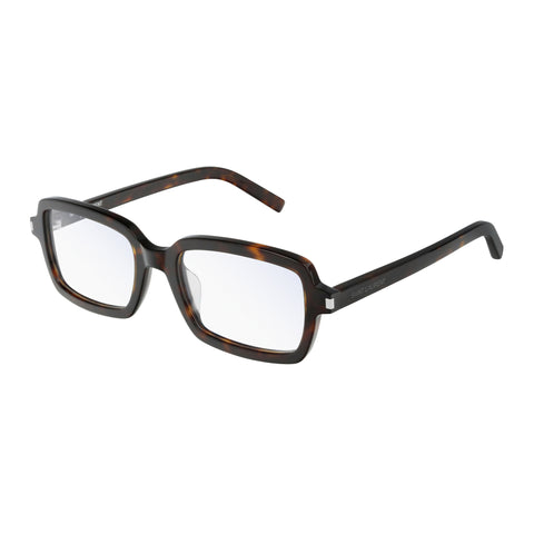 Saint Laurent Male Sl278f Tort Modern Rectangle Optical Frames