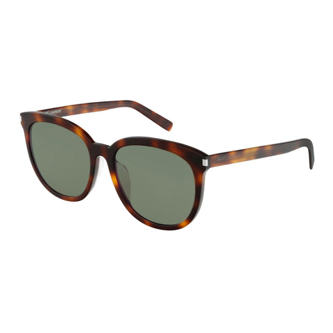 Saint Laurent Male Sl284fslim Tort Round Sunglasses