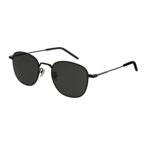 Saint Laurent Uni-sex Sl299 Black Round Sunglasses