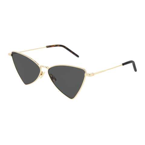 Saint Laurent Uni-sex Sl303jerry Gold Modern Rectangle Sunglasses