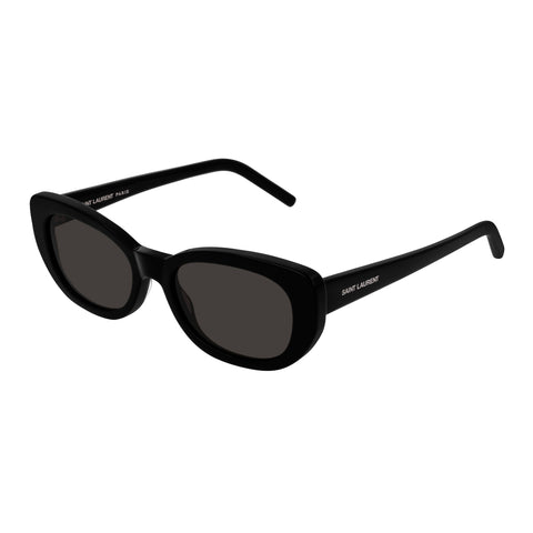 Saint Laurent Uni-sex Sl316betty Black Round Sunglasses