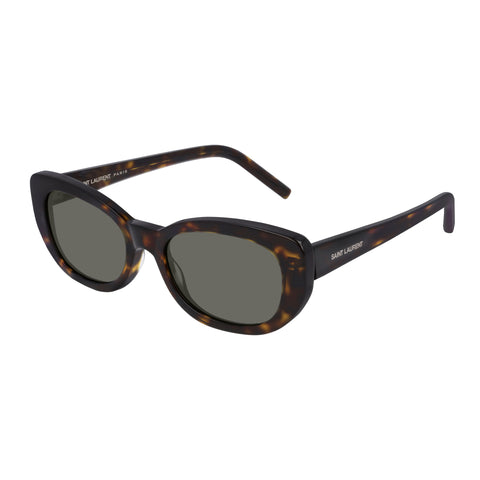 Saint Laurent Uni-sex Sl316betty Tort Round Sunglasses