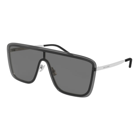 Saint Laurent Uni-sex Sl364mask Silver Mask Sunglasses