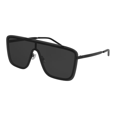Saint Laurent Uni-sex Sl364mask Black Mask Sunglasses