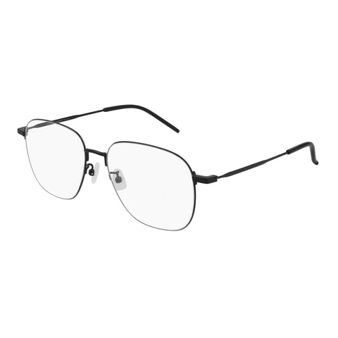 Saint Laurent Uni-sex Sl391wire Black Round Optical Frames