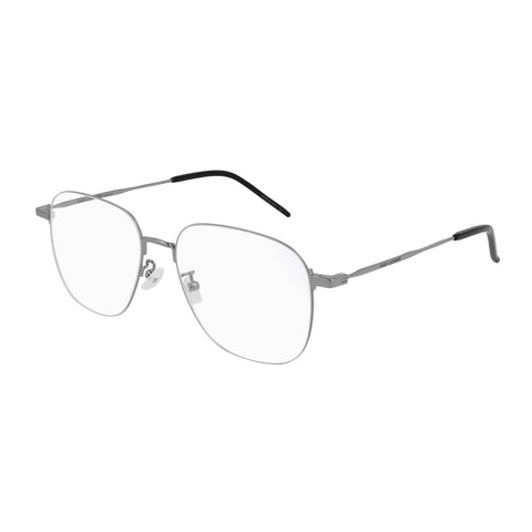Saint Laurent Uni-sex Sl391wire Silver Round Optical Frames