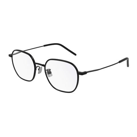 Saint Laurent Uni-sex Sl397f Black Rectangle Optical Frames