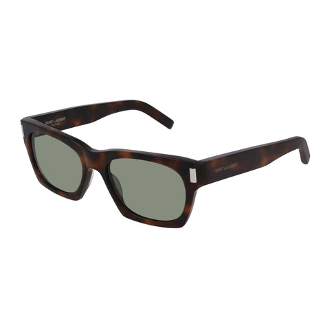 Saint Laurent Uni-sex Sl402 Tort Rectangle Sunglasses