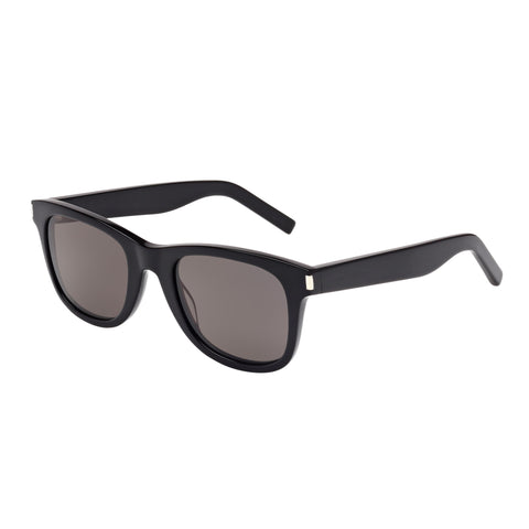 Saint Laurent Uni-sex Sl51 Black Modern Rectangle Sunglasses