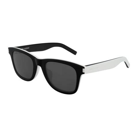 Saint Laurent Uni-sex Sl51f Black Modern Rectangle Sunglasses