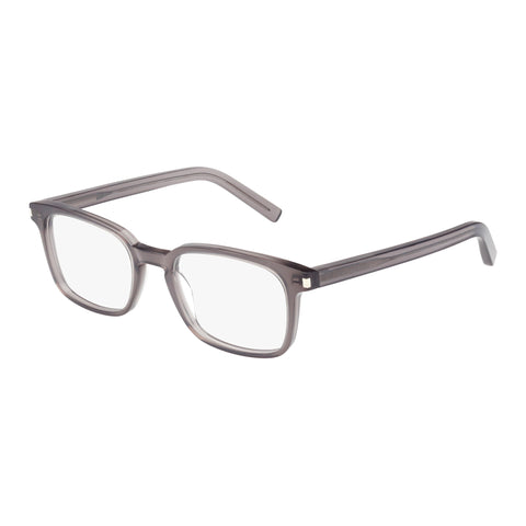 Saint Laurent Male Sl700 Grey Modern Rectangle Optical Frames