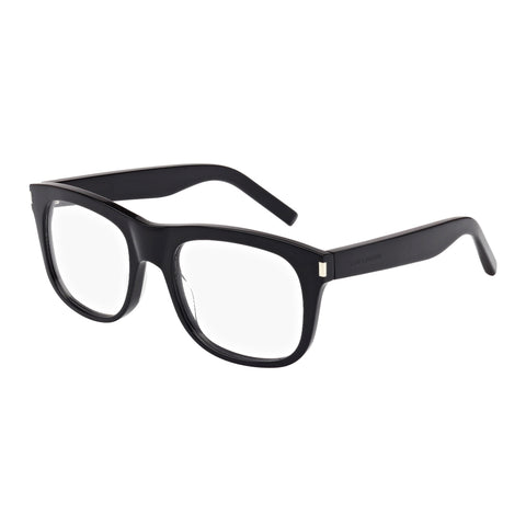 Saint Laurent Male Sl880 Black Modern Rectangle Optical Frames