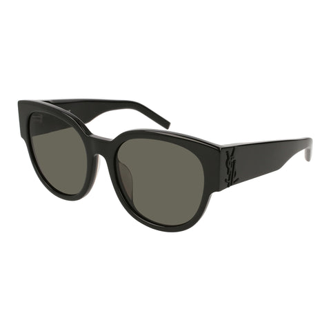 Saint Laurent Female Slm19f Black Round Sunglasses