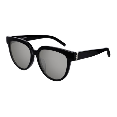 Saint Laurent Female Slm28f Black Cat-eye Sunglasses
