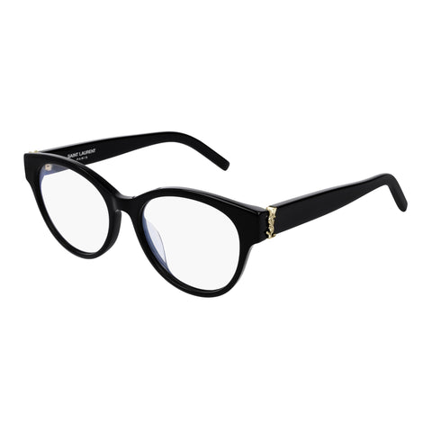 Saint Laurent Female Slm34f Black Cat-eye Optical Frames