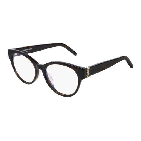 Saint Laurent Female Slm34f Tort Cat-eye Optical Frames