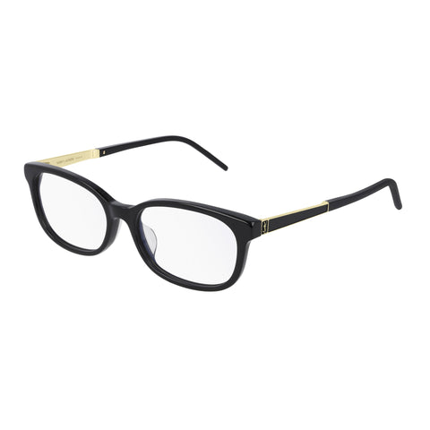 Saint Laurent Uni-sex Slm74f Black Round Optical Frames