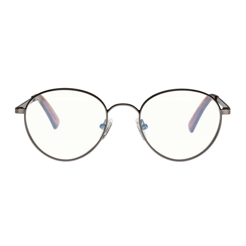 The Book Club Uni-sex They Got Farther Gunmetal Round Readers
