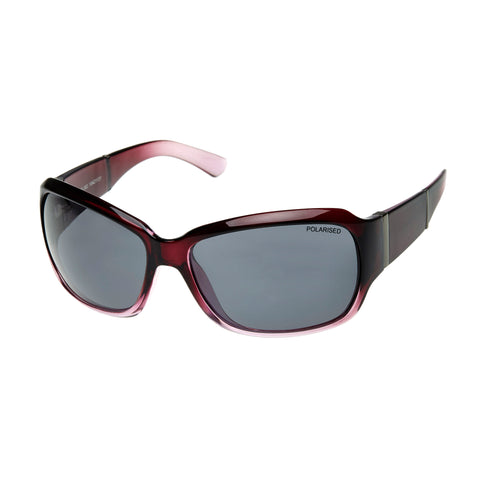Cancer Council Female Kelso P Purple Wrap Fashion Sunglasses