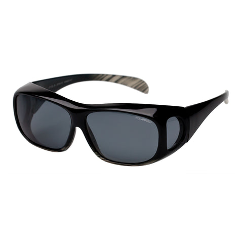 Cancer Council Uni-sex Jervis 2112l-b Black Wrap Sport Sunglasses