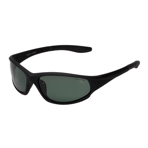 Cancer Council Male Taree Ac Black Wrap Sport Sunglasses