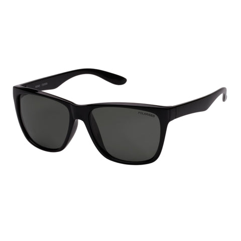 Cancer Council Uni-sex Bondi Black Modern Rectangle Sunglasses