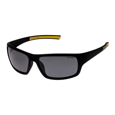 Cancer Council Male Northcote Black Wrap Sport Sunglasses